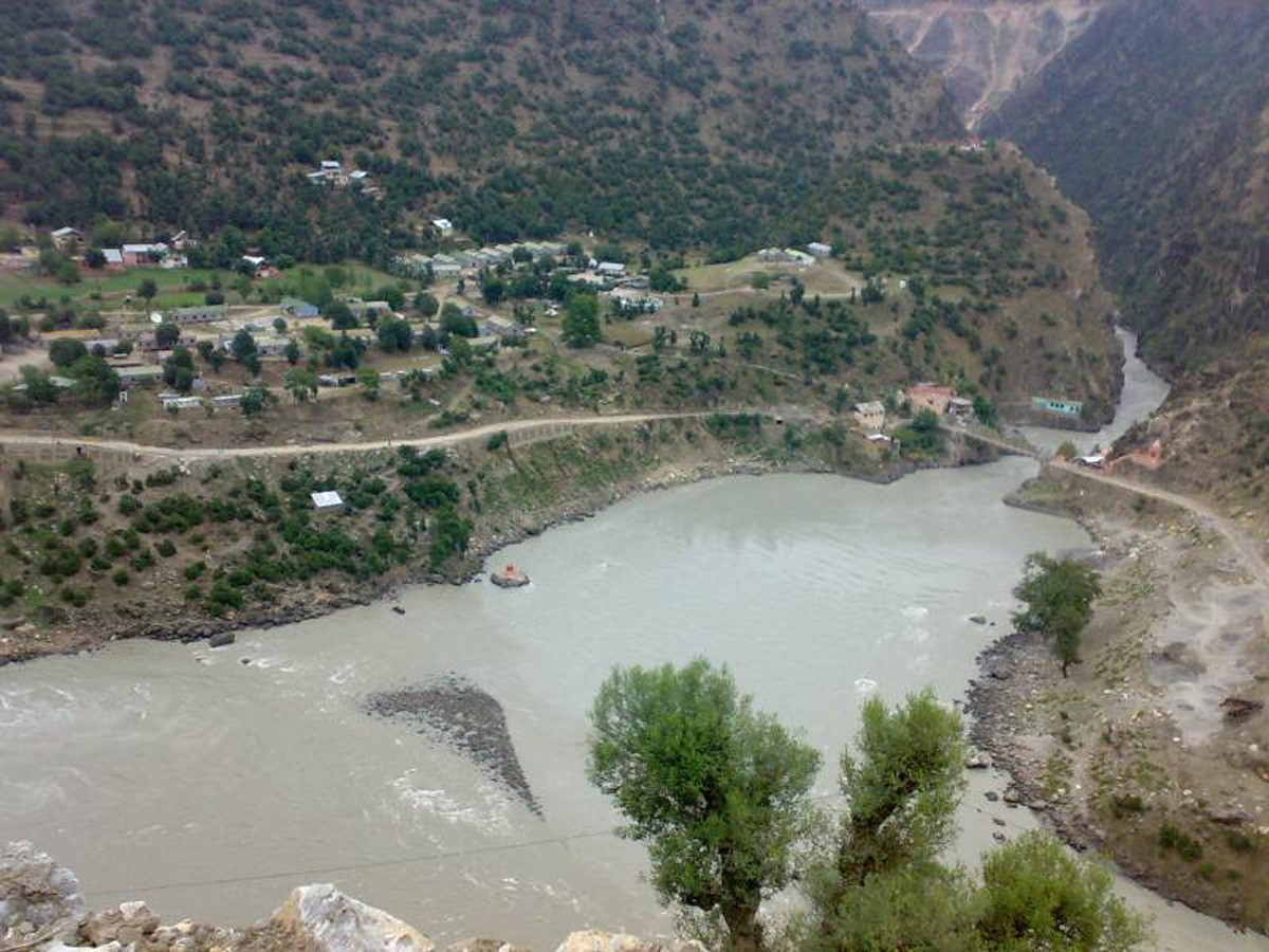 Bhandarkoot-meeting point of Chanderbhaga and Mariv sudhir Kishtwar