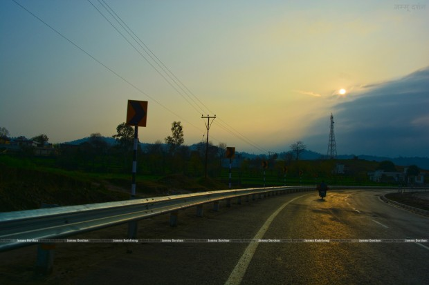 Sunset View - Jammu-Udhampur National Highway